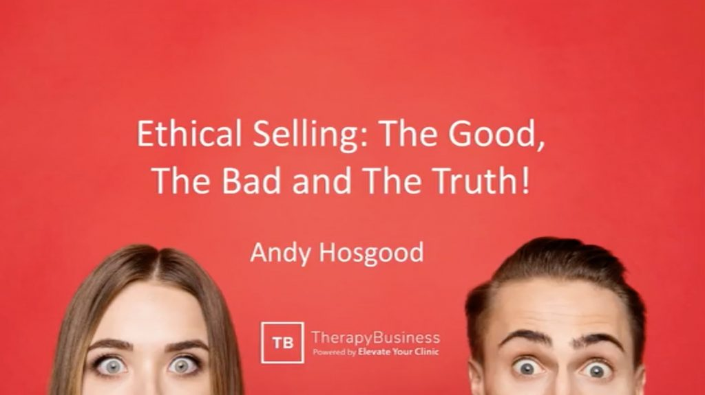 Ethical Selling